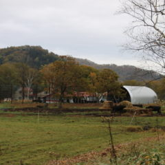 初秋の三親牧場