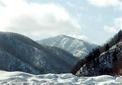 日高の山々